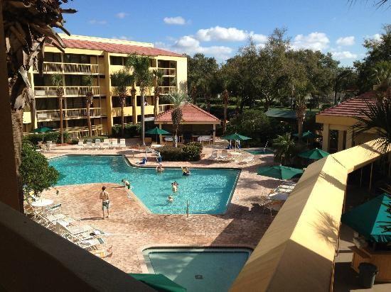 La Quinta Inn Orlando International Drive: Pool area