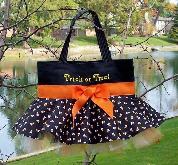 Trick or Treat Bag via etsy