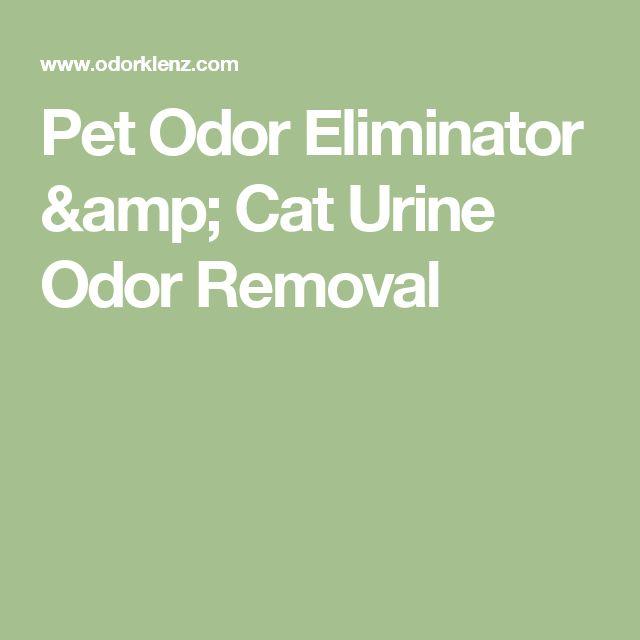 Pet Odor Eliminator & Cat Urine Odor Removal