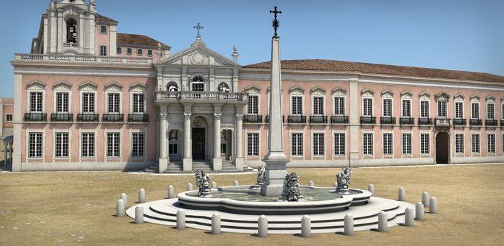 Lisbon before the earthquake of 1755 - 3D remake on Behance