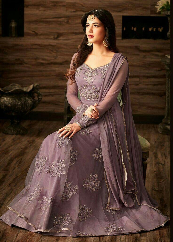 ecc0aa7b38 Purple Suits, Suit Shop, Anarkali Suits, Lehenga Gown, Punjabi Suits, Blue