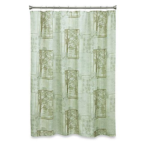 Solitude 70 Inch X 72 Fabric Shower Curtain