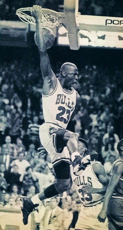 Michael Jordan... greatest of all time...