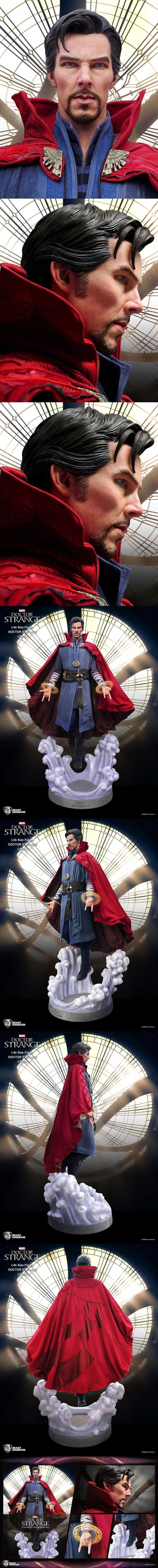 [[예약상품]Doctor Strange: Stephen Strange Life-Size Statue (LS-043)]