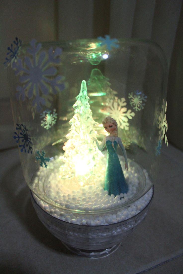 Frozen Centerpiece Frozen Themed Party Pinterest