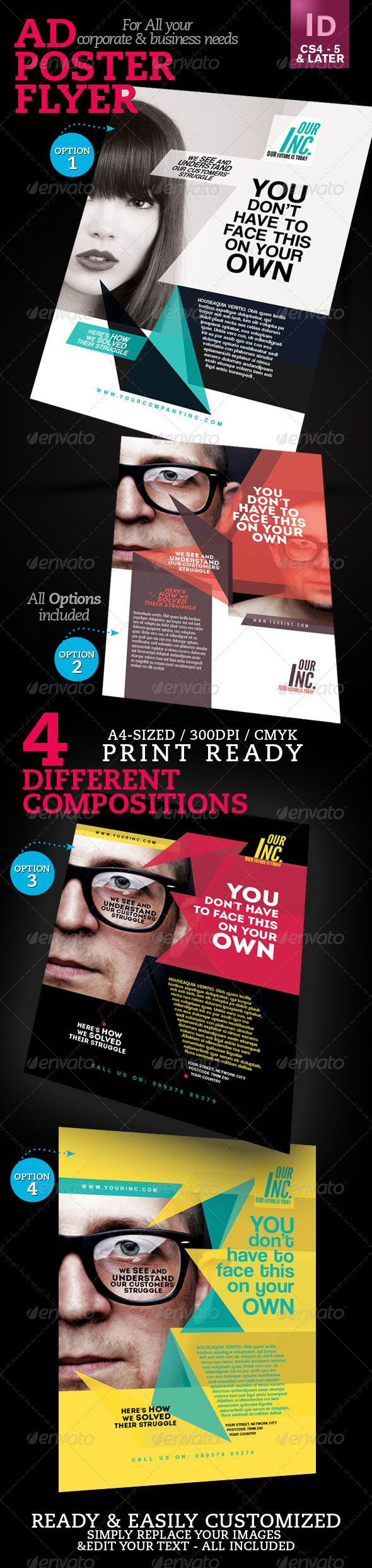 Corporate Ad / Flyer / Poster V1 - GraphicRiver Item for Sale