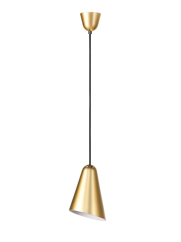 Pendant Lamp DON CAMILLO Suspension Gold White Black