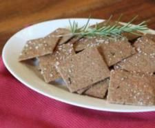 Spelt And Rosemary Crackers