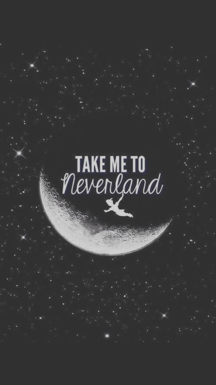 Take Me To Neverland iPhone 6 Wallpaper