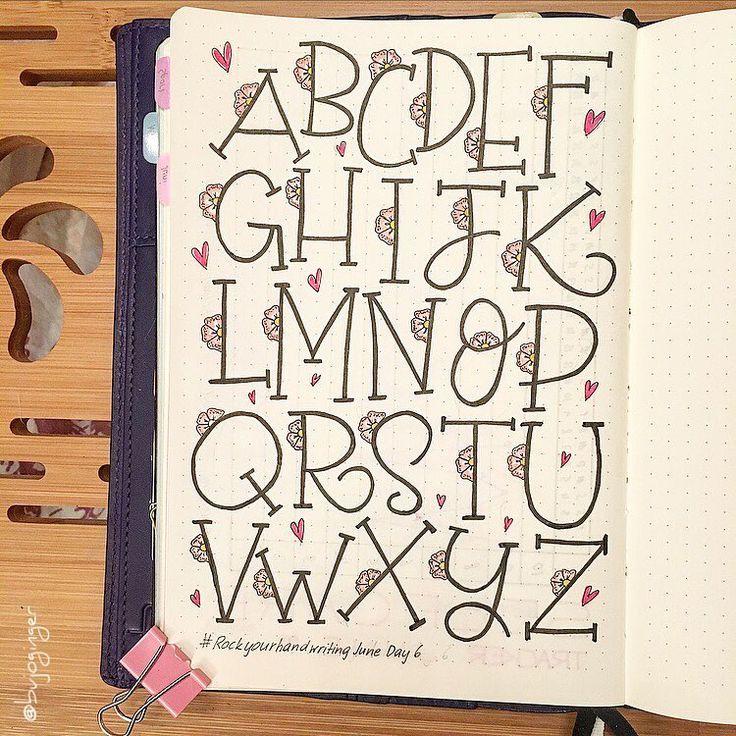 37 besten Schreibschrift Bilder auf Pinterest | Schreibschrift ...
