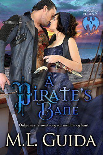 A Pirate's Bane: Paranormal Historical Vampire Romance (Legends of the Soaring Phoenix Book 5) #eReaderIQ