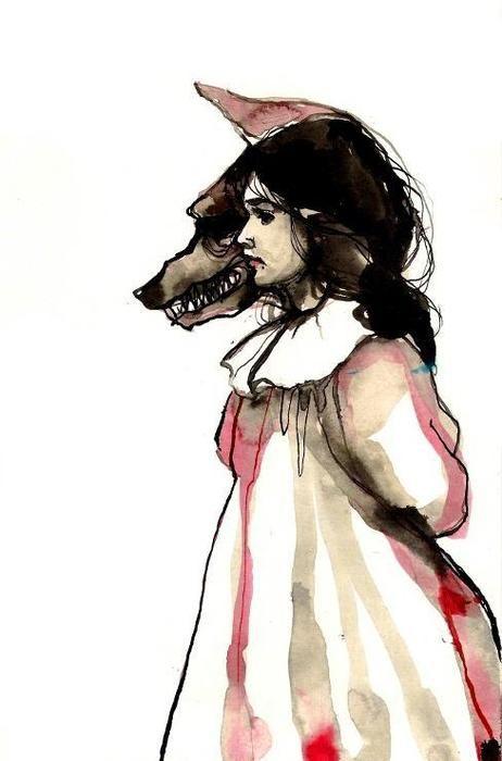 girl/wolf