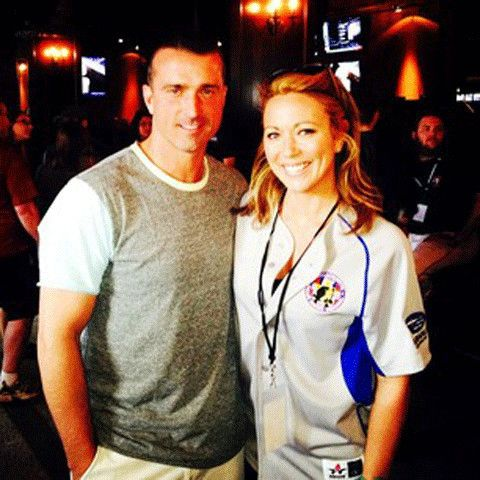 Brooke Baldwin with her husband Jay David