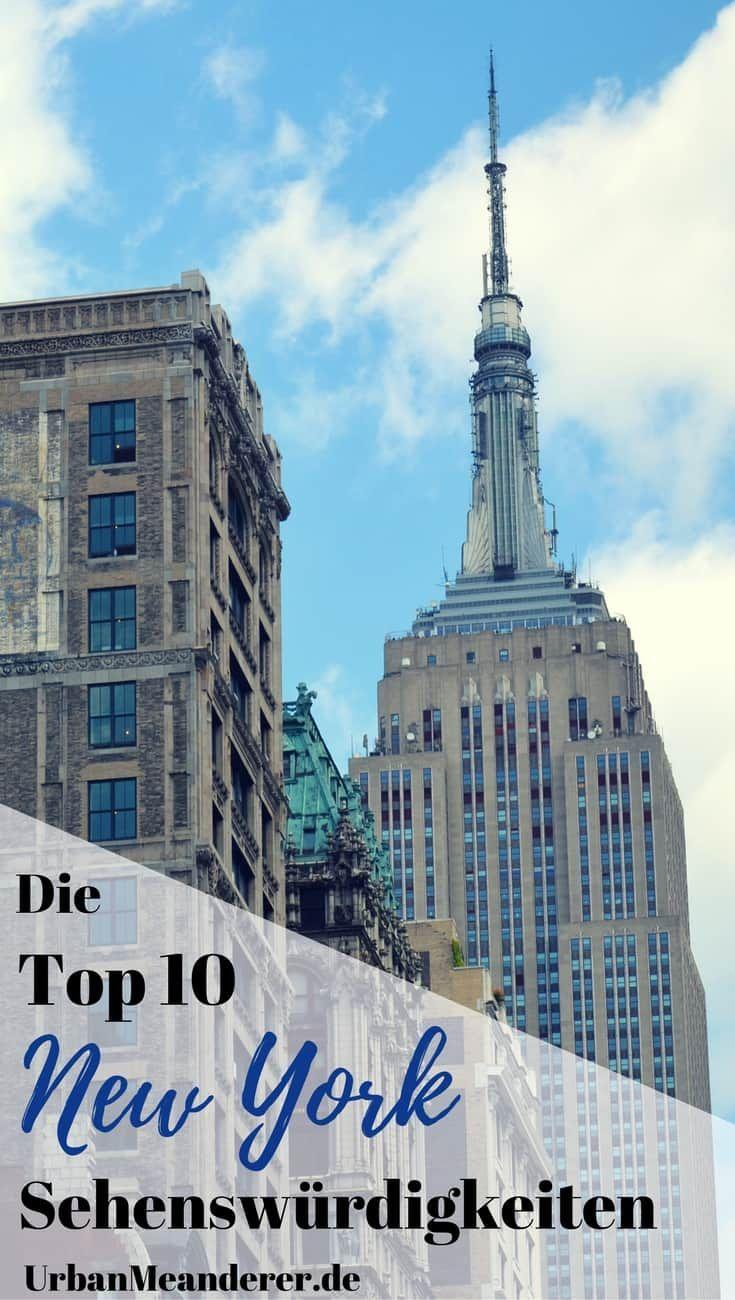 Die Top 10 New York Sehenswürdigkeiten als Rundgang (+ Tipps)