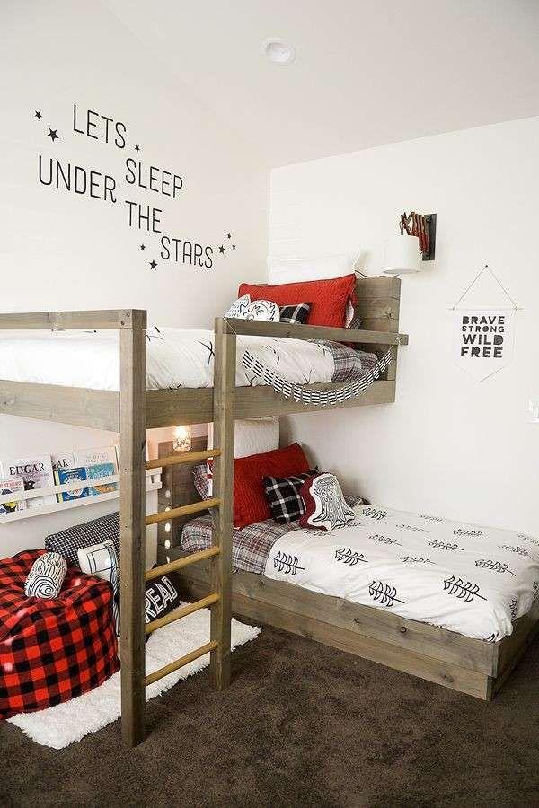 Oltre 25 fantastiche idee su letto a castello su pinterest - Mensole per camere da letto ...