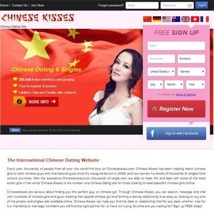 Chinese dating site usa