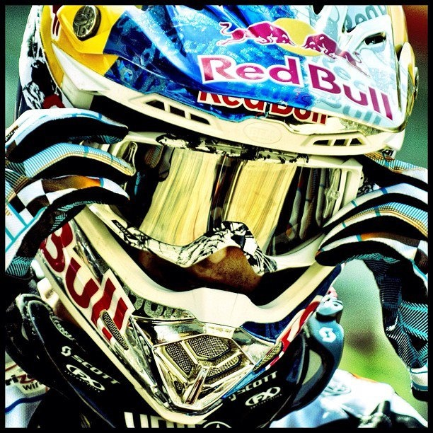 Troy Lee - Red Bull | Capacetes | Motocross photography ...