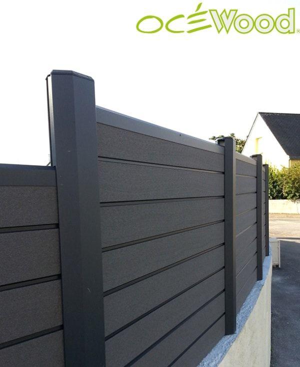 Cloture En Bois Composite Et Pvc Recycle Ocewood Outdoor