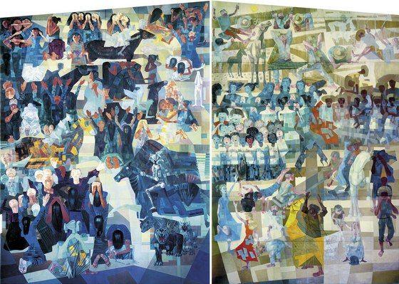 Quem for ficar na cidade de São Paulo e quiser escapar do ziriguidum do Carnaval, pode se refugiar na exposição Guerra e Paz, de Candido Portinari (1903 – 1962), no Memorial da América Latina...