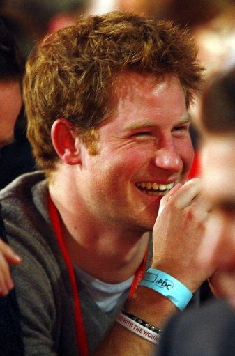 Prince Harry he is becoming such a fine young man
