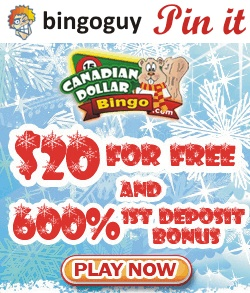 Without a doubt, Canadian Dollar Bingo is the number one choice for Canadian bingo players.