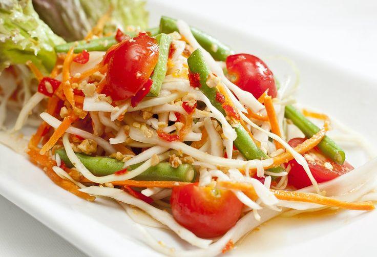 12 best most popular thai dishes images on pinterest popular thai som tum spice green papaya salad forumfinder Gallery