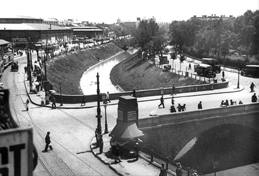 Old Bucharest, Dambovita, 1941