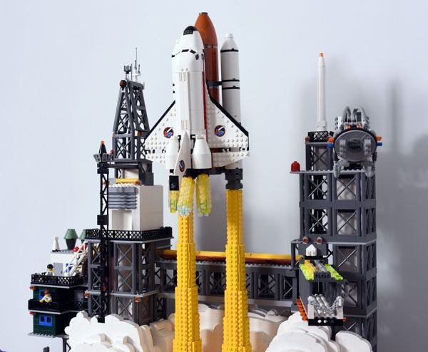 lego city space shuttle launch - photo #15