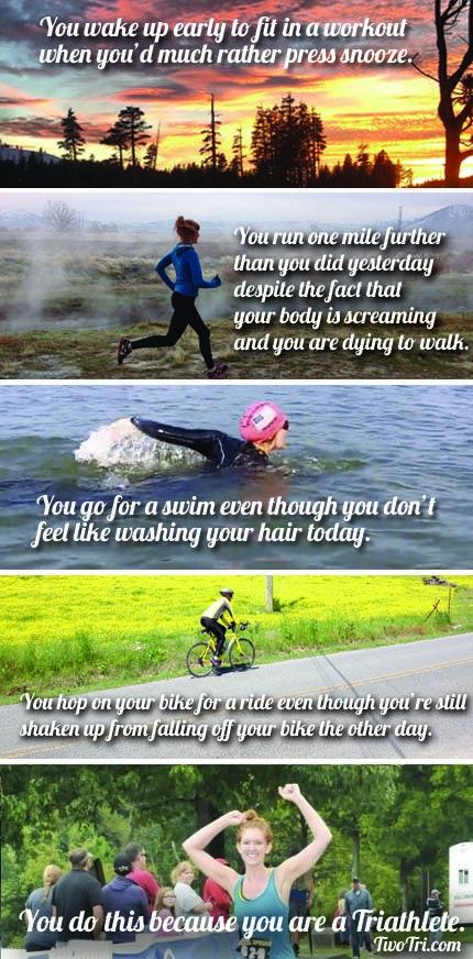 You are a triathlete | TwoTri.com