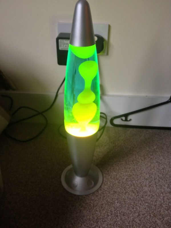 Cool Lava Lamps for Sale | Striking Cool Green Alien / Clear Lava Lamp Lamps  16.5