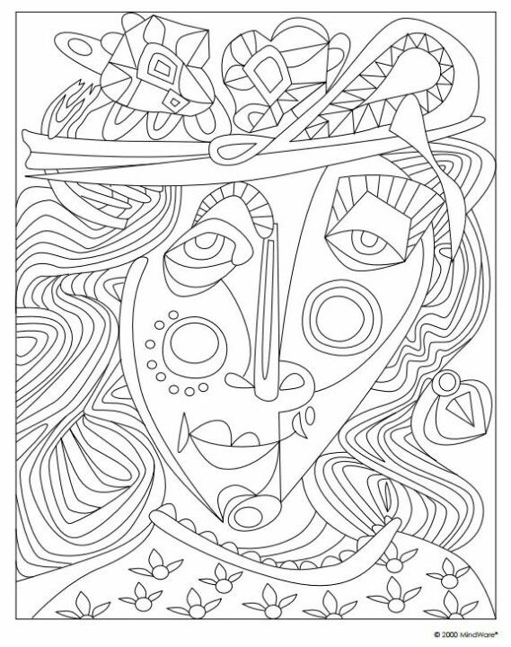 BJD Each Page In The MasterScapes Coloring Book Offers Patterns Textures And Styles Based On Art Masterpieces Make Them Your Own By Choosing Just How To