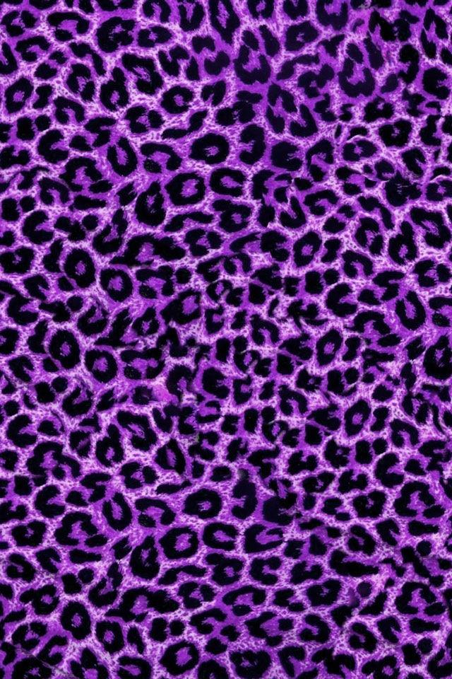 Purple leopard background | LONDON CHASEY TY | Pinterest ...