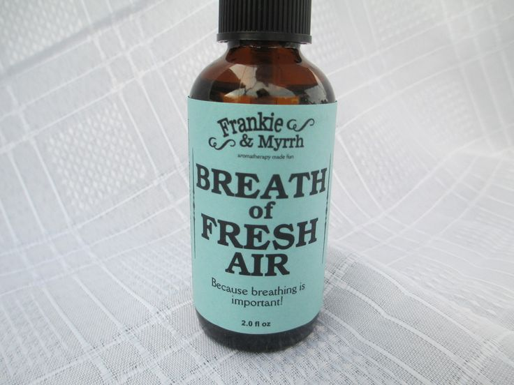 Breath of Fresh Air – Because Breathing Is Important