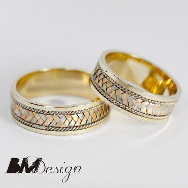 Obrączki ślubne trzy kolory złota Rzeszów