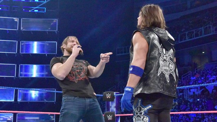 SmackDown 10/11/16: James Ellsworth vs. AJ Styles with Special Guest Referee Dean Ambrose