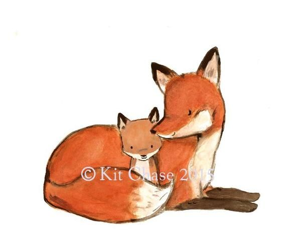 Celebrate the bond between parent and child with this simply beautiful reproduction of my original illustration. art print from an original watercolor, gouache,