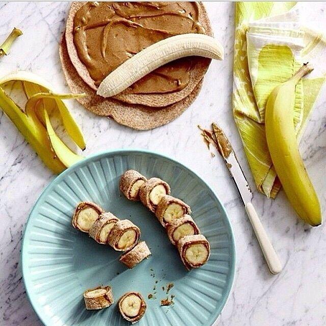 Banana + Peanut Butter Wraps.