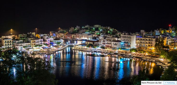 Agios Nikolaos in Crete has an amazing lake surrounded by charming cafes. Only a short boat ride from the famous Spinalonga Island and some amazing beaches.