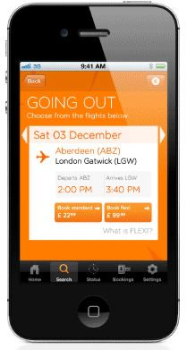 The iPhone App Overview | easyJet