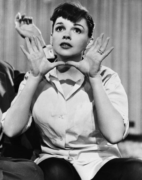 Judy Garland in A Star Is Born (George Cukor, 1954)