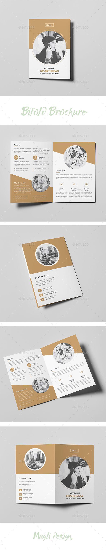 Bifold Brochure - #Corporate #Brochures Download here: https://graphicriver.net/item/bifold-brochure/20033628?ref=alena994