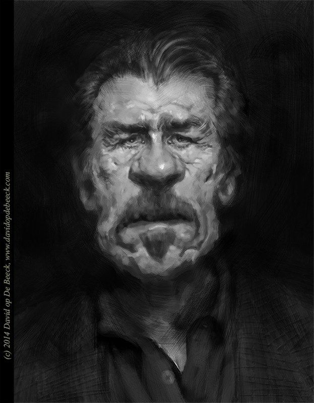 Tommy Lee Jones by David op De Beeck www.davidopdebeeck.com