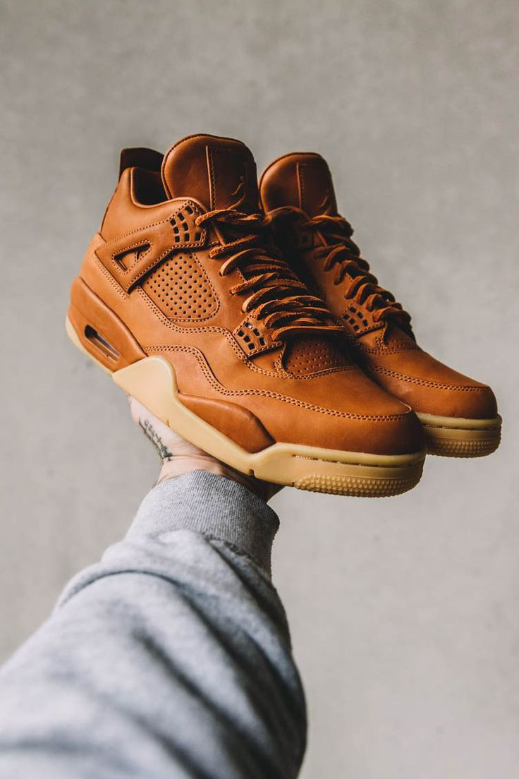 Supernatural Style | https://pinterest.com/SnatualStyle/  NIKE Air Jordan 4 Retro Premium 'Ginger'