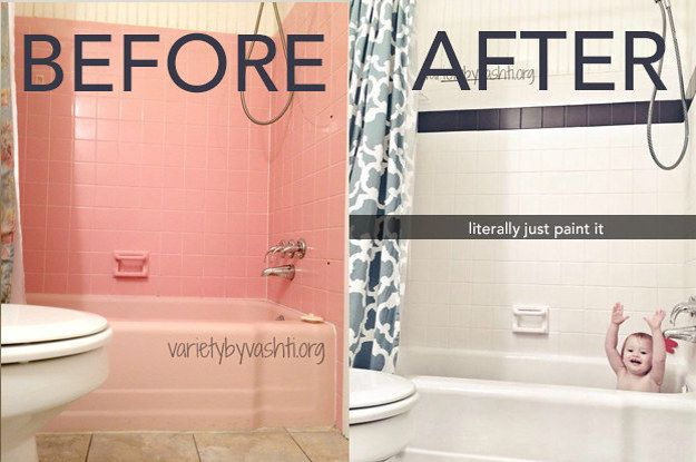 16 Diy Projects That Look Hard But Are Easier Than They Look Home Improvement Projects Diy Home Improvement Tile Bathroom