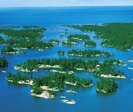 Georgian Bay (30000 Islands) - The world's largest concentration of freshwater islands.Ontario