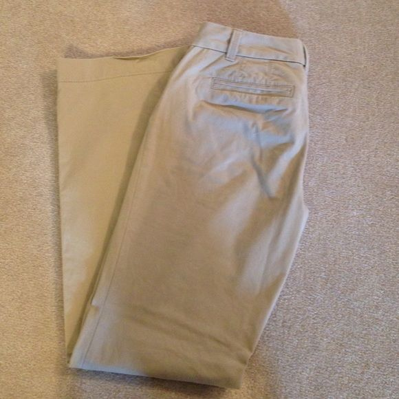 Ann Taylor Loft Khaki Pants Ann Taylor Loft Khaki pants.  In great condition.  Very soft.  Only worn a few times.  Petite.  Julie Fit. Ann Taylor Pants Trousers