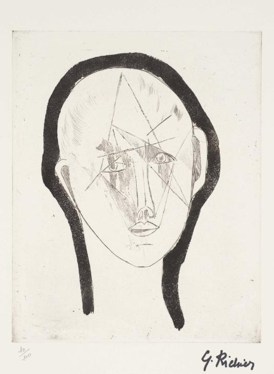 Germaine Richier, 'Portrait' 1948–51, published 1961