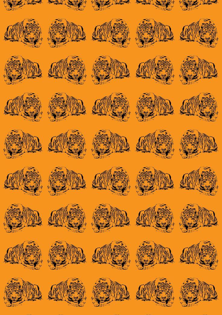 Tiger Pattern - Adobe Illustrator, Adobe Photoshop