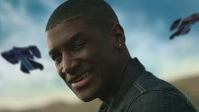 Labrinth need we say more?!....http://www.muzu.tv/labrinth/labrinth-feat-tinie-tempah-kano-wretch-32-and-busta-rhymes-earthquake-music-video/1317008/