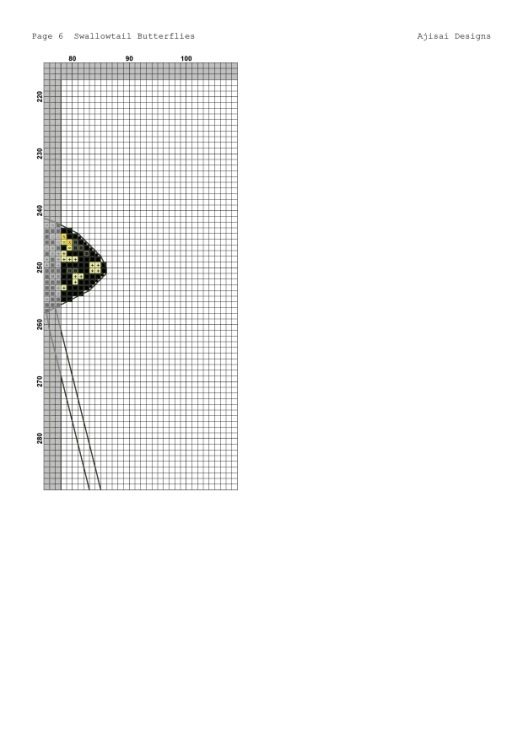 Gallery.ru / Фото #15 - Ajisai Designs - Swallowtail Butterflies - tymannost